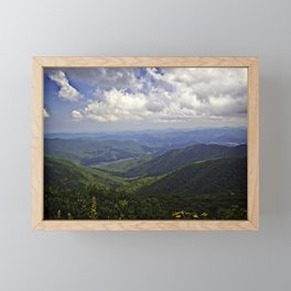 A Distant Gaze Framed Mini Art Print