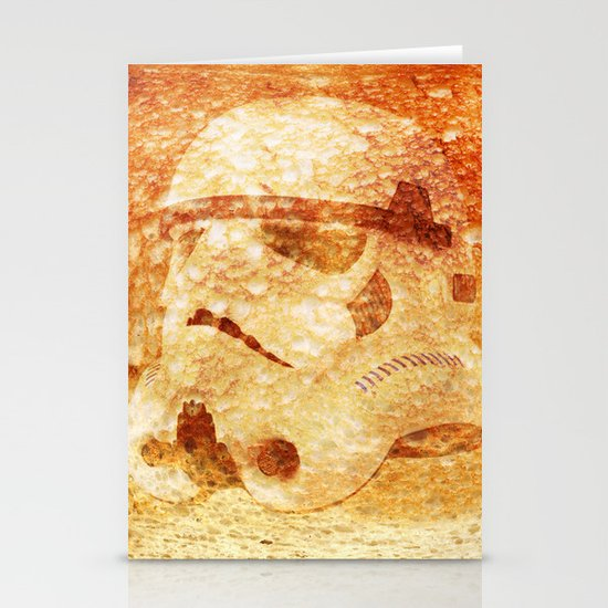 Stormtrooper Toast Stationery Cards