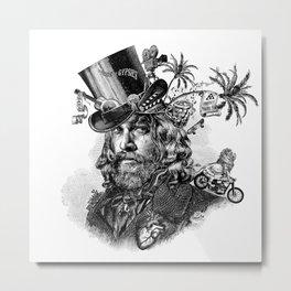 Jason Momoa steampunk Metal Print