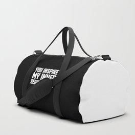 Inner Serial Killer Funny Quote Duffle Bag