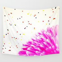 confetti Wall Tapestries featuring Confetti by Hyla Zest
