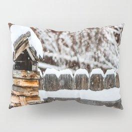 Snow House Pillow Sham