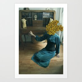 Inflorescencias 1 Art Print