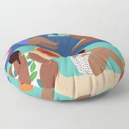 Fruity Bay Floor Pillow