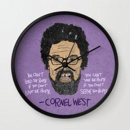 CORNEL WEST Wall Clock