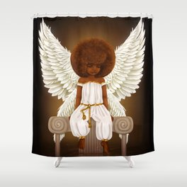 Lil' Angel Shower Curtain