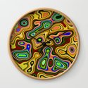 Color statement, abstract pattern by walstraasart