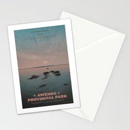 Awenda Provincial Park Stationery Cards