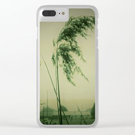 Windblown Rees Clear iPhone Case