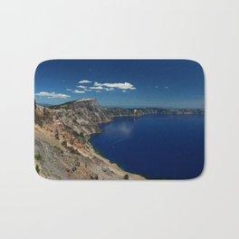 Crater Lake View with Caldera Rim Bath Mat