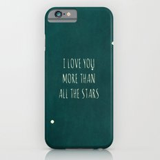 More Than All the Stars - Teal iPhone 6s Slim Case