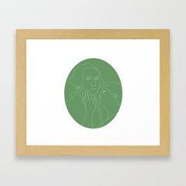 Art of money Framed Art Print