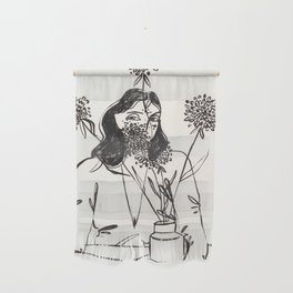 First kiss Wall Hanging