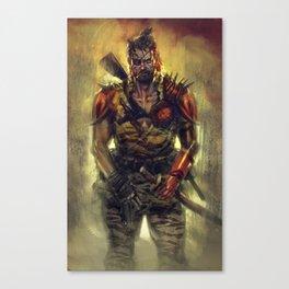 Ronin Snake Canvas Print