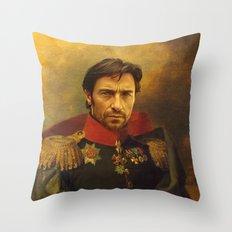Hugh Jackman - replaceface Throw Pillow