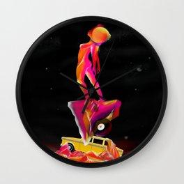 A c i d MND Surfer  Wall Clock