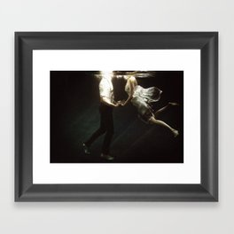 abyss of the disheartened VII Framed Art Print