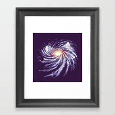 Spacetime Story Framed Art Print