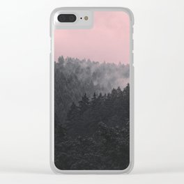 Slowly Sinking In Clear iPhone Case