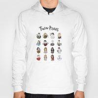 twin peaks Hoodies featuring twin peaks by Bunny Miele