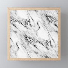 Classic Marble Framed Mini Art Print