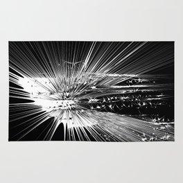Big bang star explosion Rug