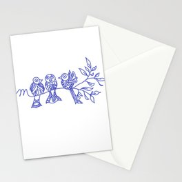 In memoria 3 Stationery Cards