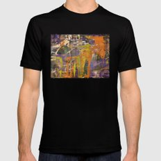 Chaos theory MEDIUM Black Mens Fitted Tee