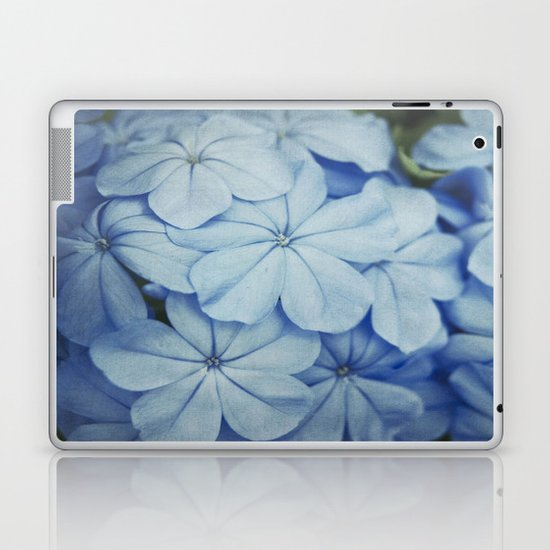 Blue Plumbago Laptop & iPad Skin