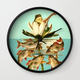 Froggy (Pluck Your Magic Twanger) Wall Clock