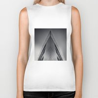 triangle Biker Tanks featuring triAngle by Dirk Wuestenhagen Imagery