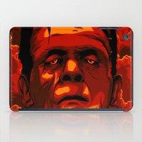 frankenstein iPad Cases featuring Frankenstein by Denis O'Sullivan