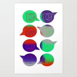 Spread the Word Art Print