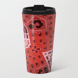 Difformed cityscape Metal Travel Mug