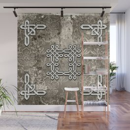 Wonderful celtic knot Wall Mural