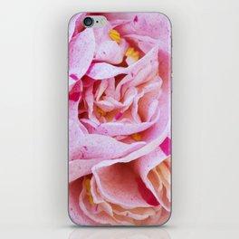 Strawberry Blonde Camellia iPhone Skin