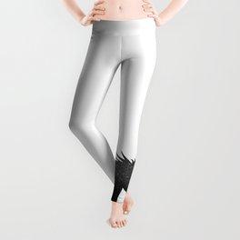 Black Glitter Unicorn Leggings