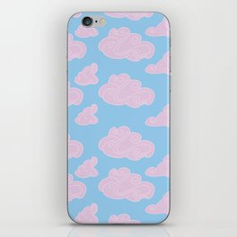 Detached Clouds Version 2 iPhone Skin
