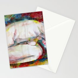 PEACEFUL NUDE Stationery Cards