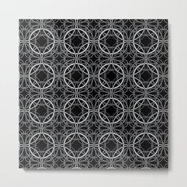 Rondo Black Metal Print