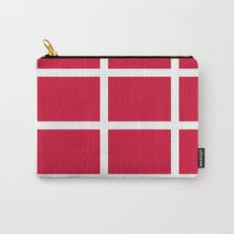 abstraction from the flag of denmark Carry-All Pouch