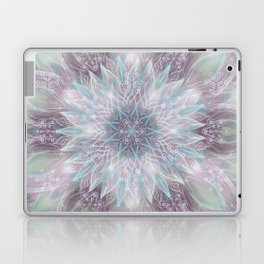 Lavender swirl pattern Laptop & iPad Skin