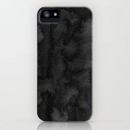 Black Ink Art No 2 iPhone Case