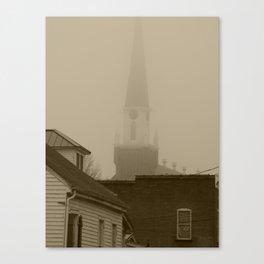 Ghost Church III Canvas Print