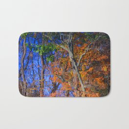 Reflections of the Fall Bath Mat