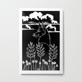 calm meadows Metal Print
