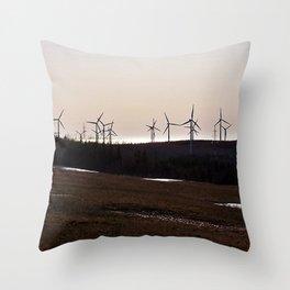 Windmill Ridge Throw Pillow