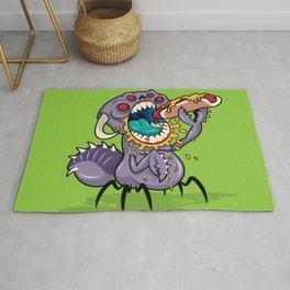 Om Nom Alien Bug Rug