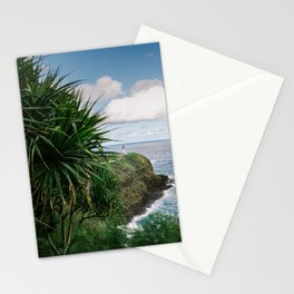 Kilauea Lighthouse Kauai Hawaii | Tropical Beach Nature Ocean Coastal Travel Photography Print Stationery Cards
