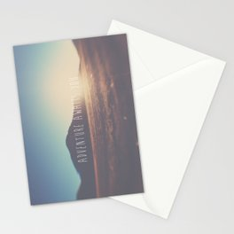 adventure awaits you ... Stationery Cards